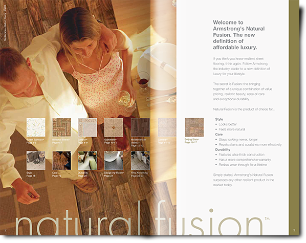 Natural Fusion Flooring from Armstrong
