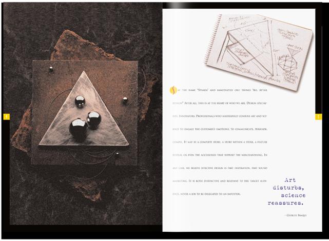 Strada Design sales brochure