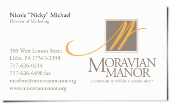 Moravian Manor logo