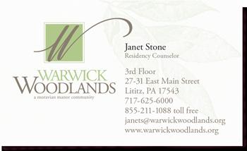 Warwick Woodlands branding