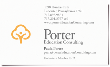 Porter Education Consulting